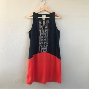 STITCH FIX THML Color Block Embroidered Dress